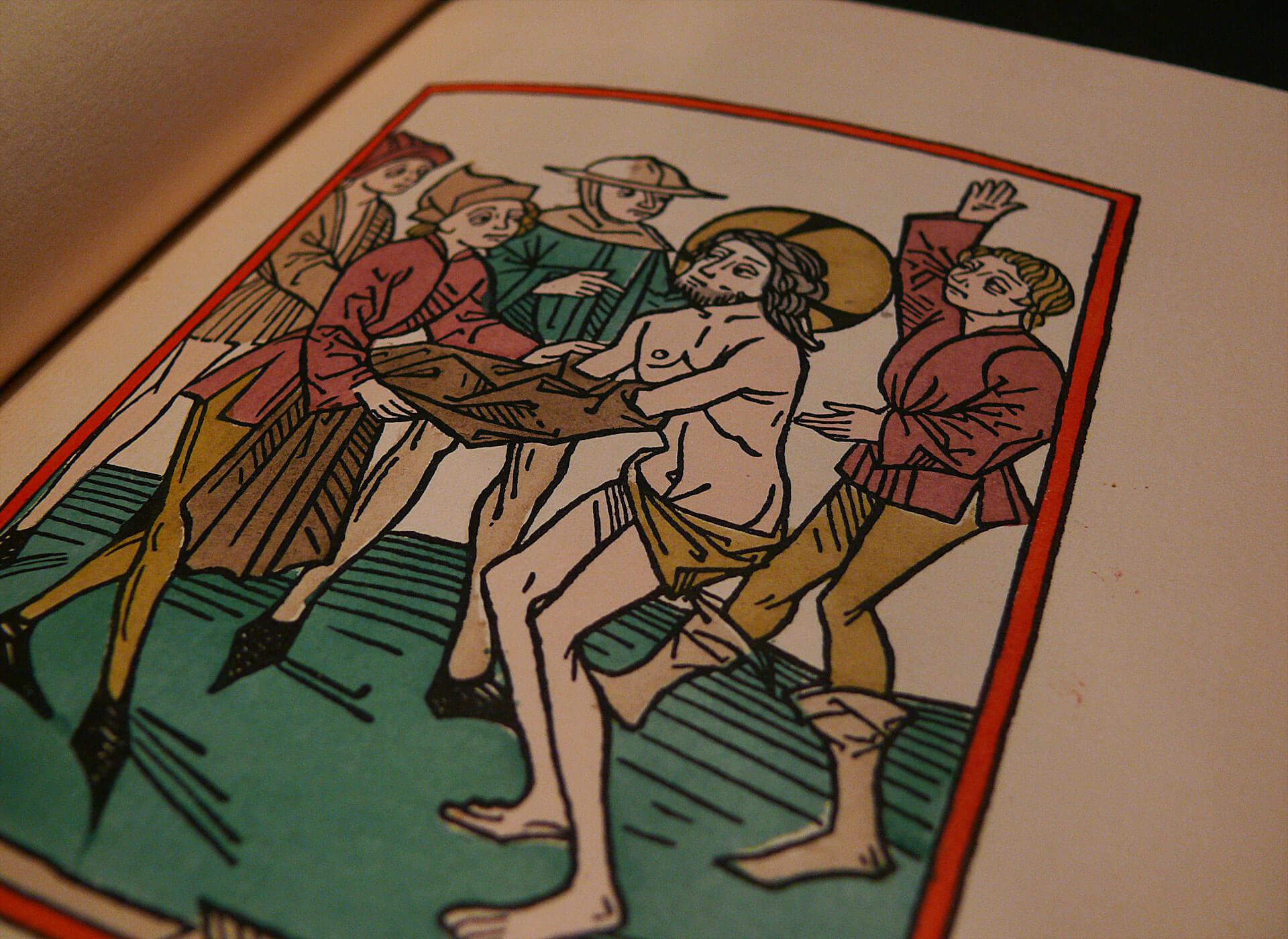 Dorfner Augsburger Passion von 1480