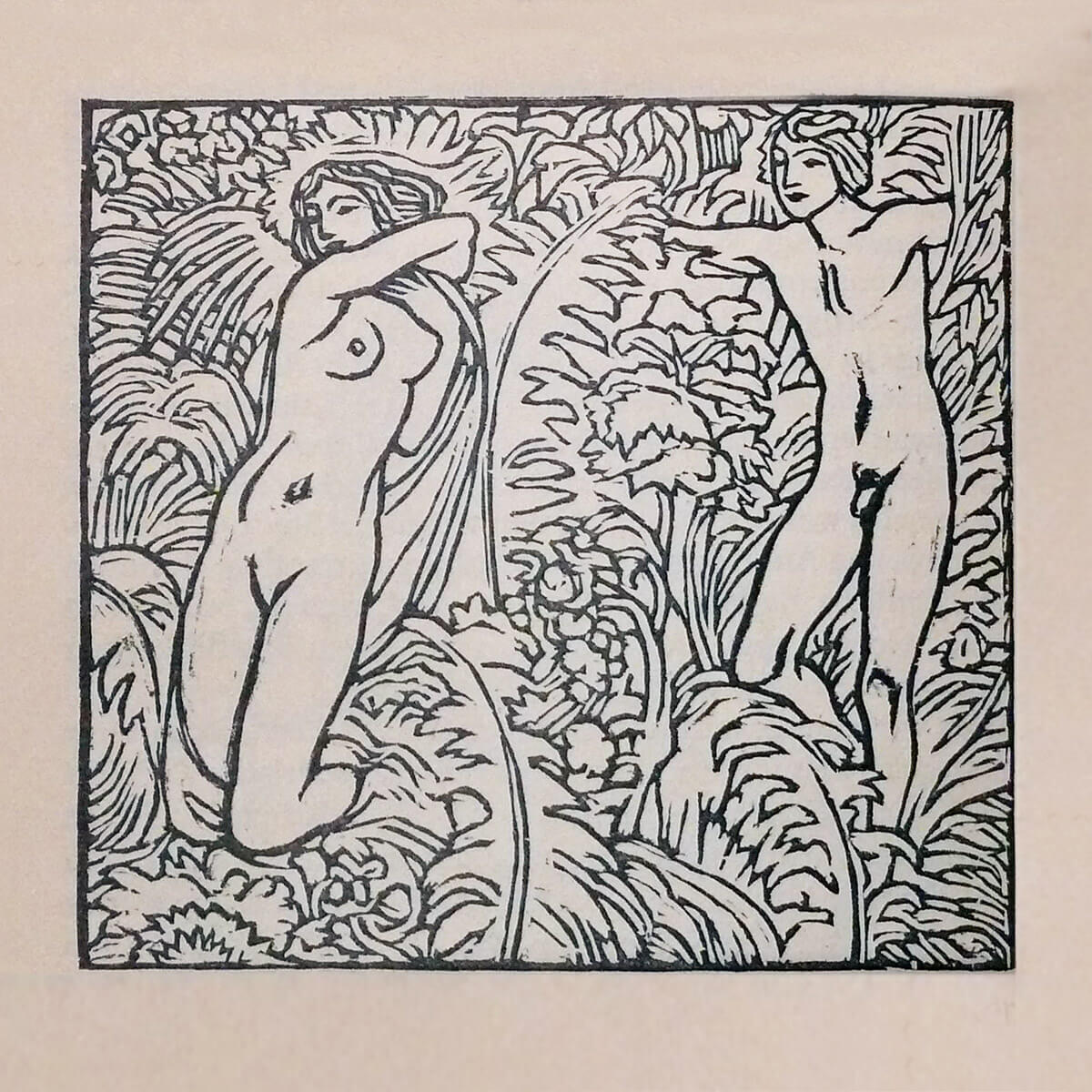 Ludwig von Hofmann – Garten Eden