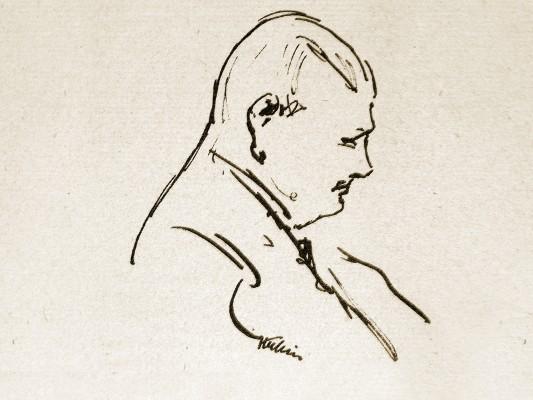 Alfred Kubin: Hans von Weber