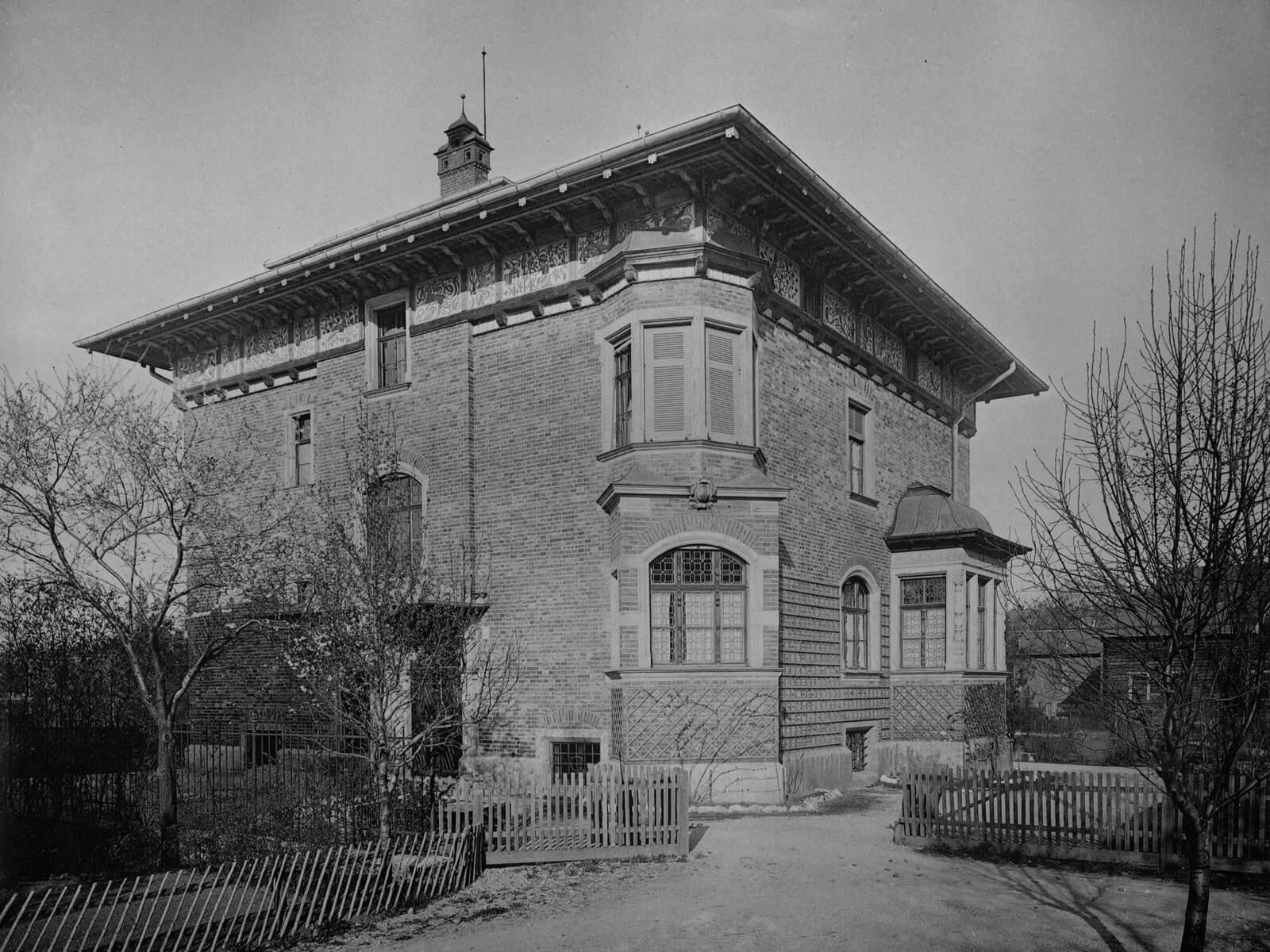 Die Villa Thiersch, Georgenstrasse 16