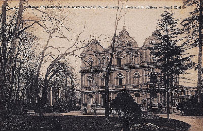 Maison d'Hydrothérapie et de Convalescence du Parc de Neuilly – Grand Hôtel