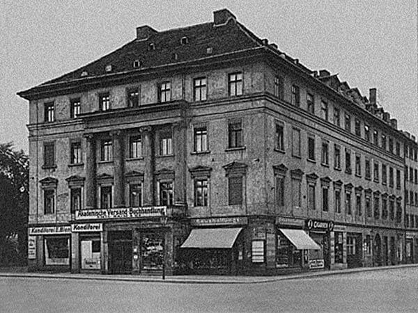 Sandstrasse 12 am Ritterplatz in Breslau (im zweiten Weltkrieg zerstört).