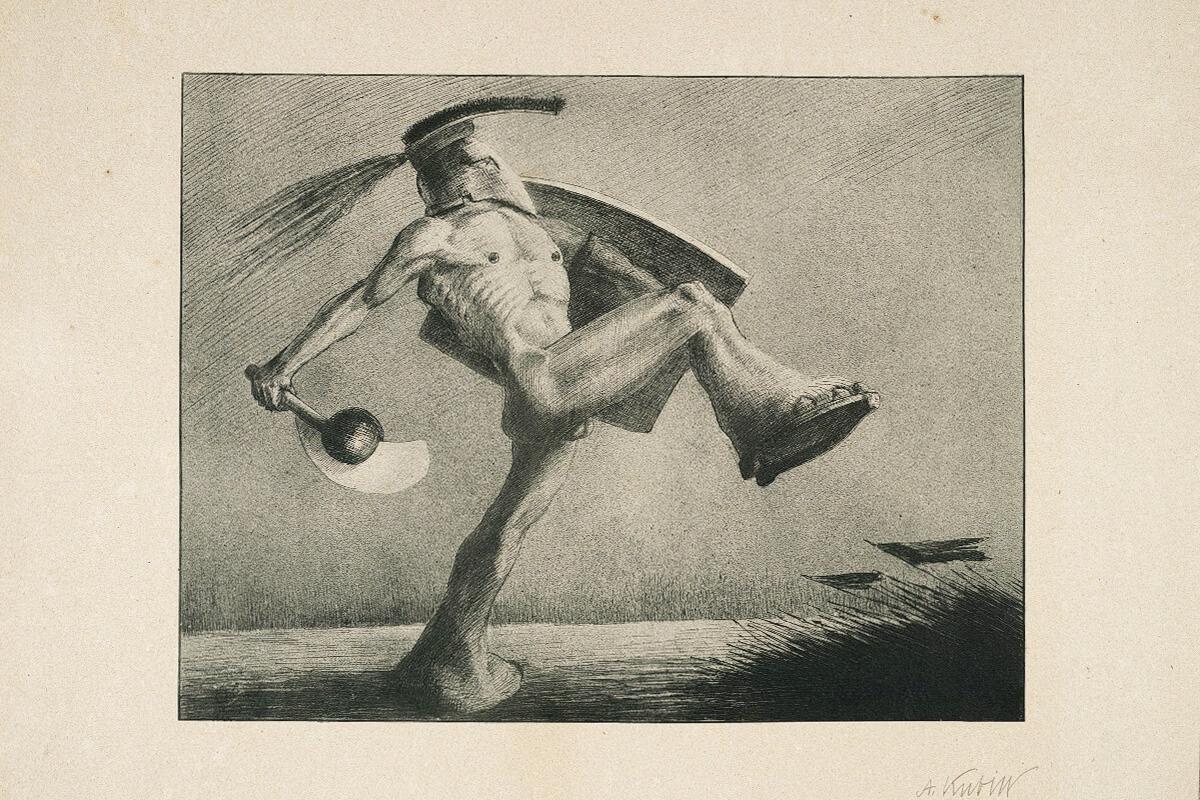 Alfred Kubin: Der Krieg